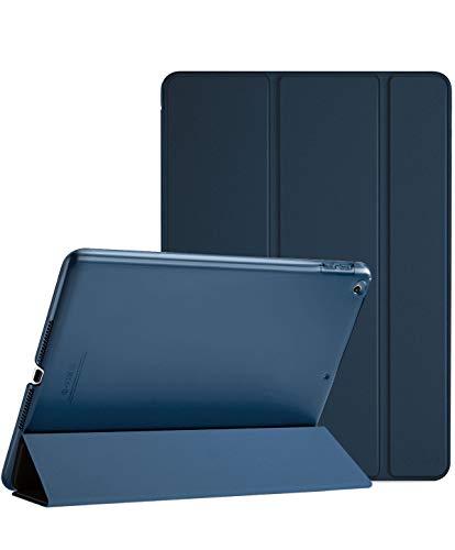 ProCase Coque 9.7 Pouces pour iPad 6 iPad 5, A1893 A1954 A1822 A1823, Housse Étui de Protection Case Smart Cover Mince avec Support Fonction et Sommeil/Réveil Automatique-Marine