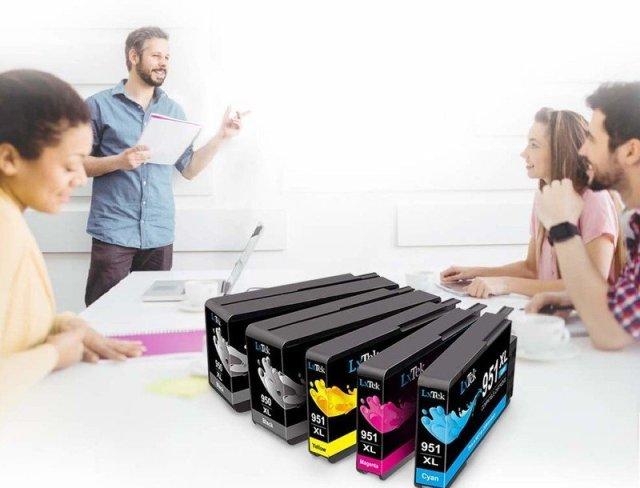 LxTek ink cartridges in meeting