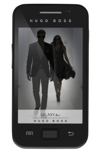 Samsung Galaxy Ace Hugo Boss edition wanted to show that there is style in simplicity