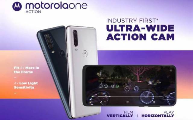 Motorola One Action Android 11