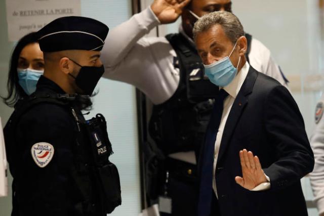 Nicolas Sarkozy, le 1ermars 2021.