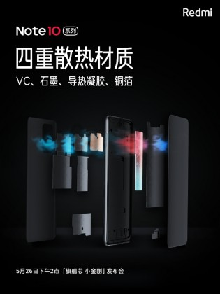 VC liquid cooling