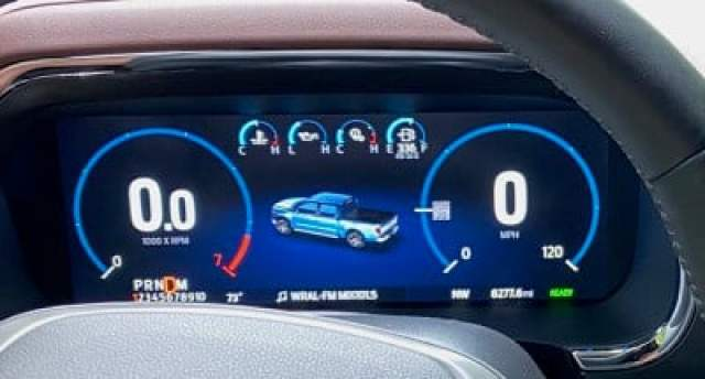 2021 ford f150 productivity screen