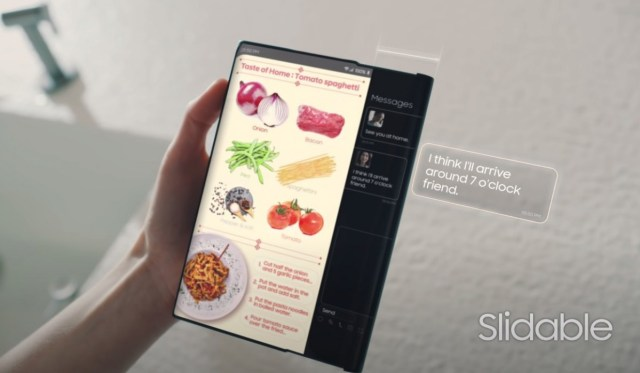 Samsung flexes its latest display developments in new promo video
