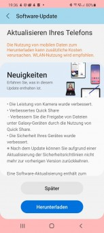 Galaxy S20 and S21 series update changelogs (Source: AllAboutSamsung)
