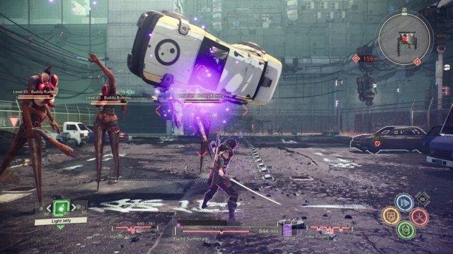 Scarlet Nexus fight
