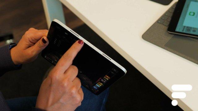 L'iPad Pro dispose de 4haut-parleurs et 5micros
