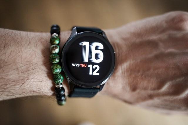test oneplus watch cadran