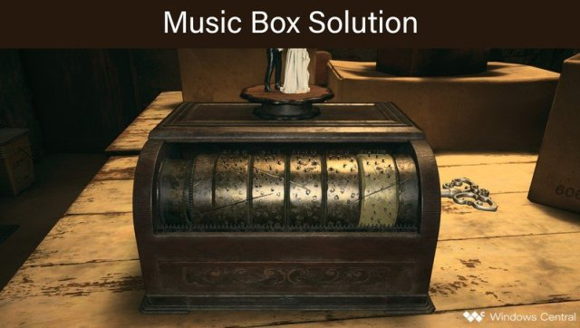 Resident Evil Village Music Box Solution Crop