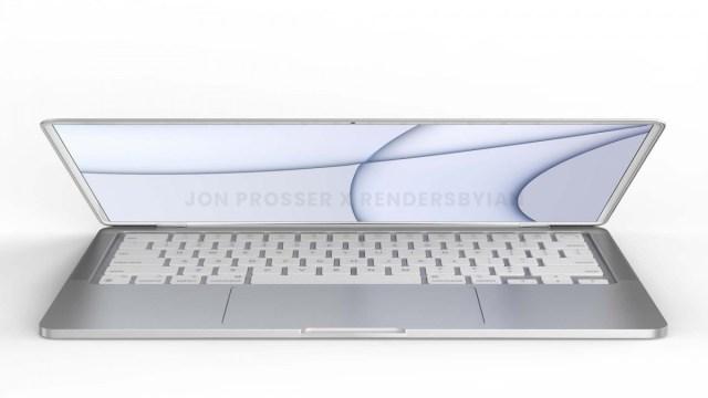 Upcoming MacBook/MacBook Air renders reveal all-new flat design in several colors