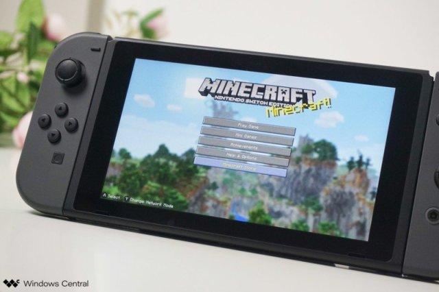 Minecraft Nintendo Switch