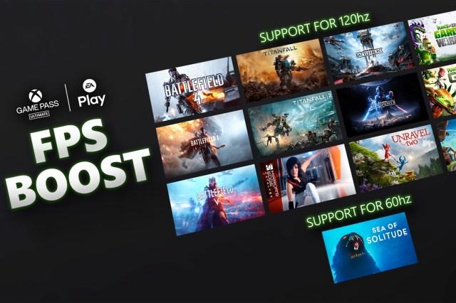 Jeux EA FPS Boost Xbox Series X/S