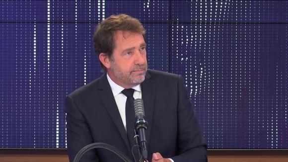 """Christophe Castaner, président du groupe LREM à l\'Assemblée nationale,était l\'invité du \""""8h30franceinfo\"""", lundi 21juin 2021."""
