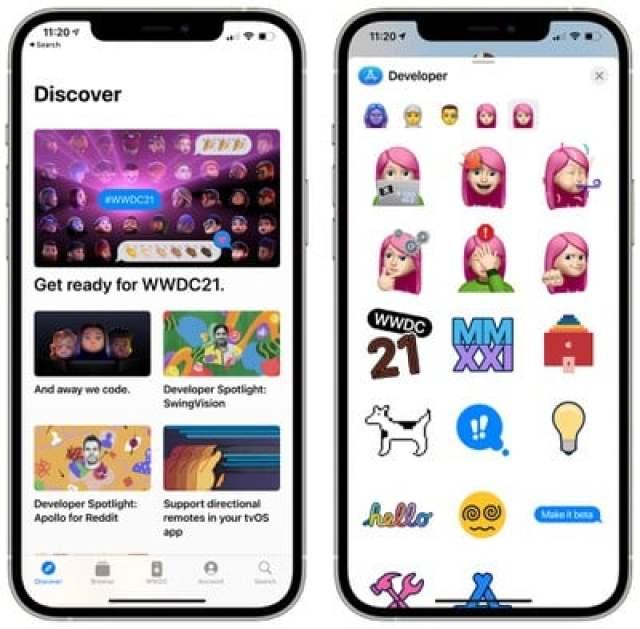 apple developer app stickers