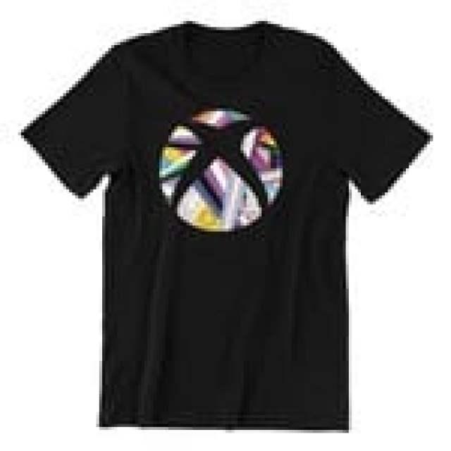 Xbox Sphere Pride Tshirt Black