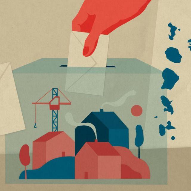 Les élections régionales et départementales doivent se tenir en France à la fin du printemps, les 20 et 27 juin 2021. (ELLEN LOZON / FRANCEINFO)