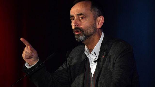 Robert Ménard, le 22 janvier 2020, à Béziers. (PASCAL GUYOT / AFP)