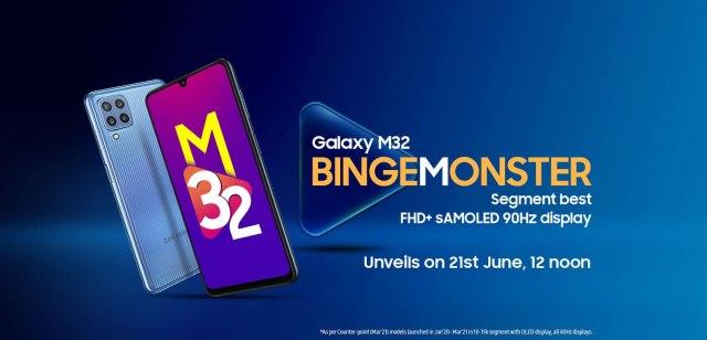 Samsung Galaxy M32 India Amazon