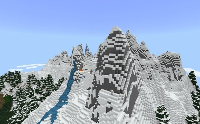 Minecraft Caves And Cliffs Update Mountain Generation