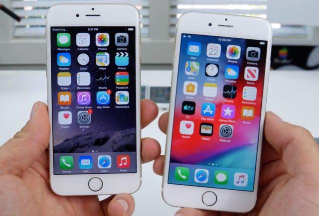 ios 12 iphone 6 1000x678 iOS 12.5.4 disponible pour les anciens iPhone : des mises à jour de sécurité sont proposées