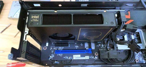 NUC 11 Extreme équipé d'un processeur Core i9-11900KB