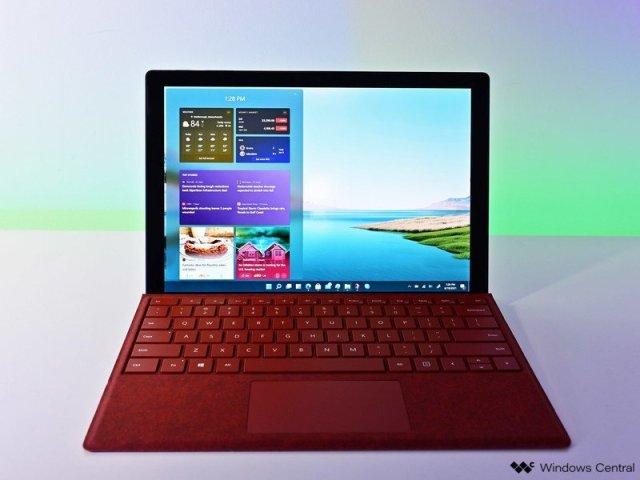 Windows 11 Widget Surface Pro