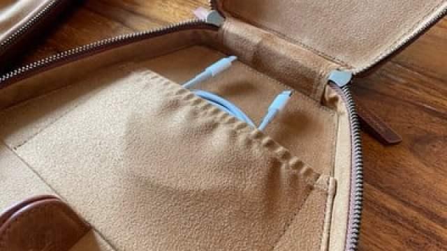blackbrook airpods max case inside pocket