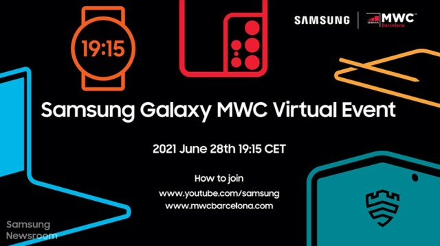 Samsung announces virtual MWC event, teasing silhouettes hint at new devices