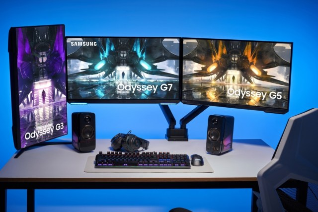 Samsung unveils 2021 Odyssey gaming monitor lineup with flat panels