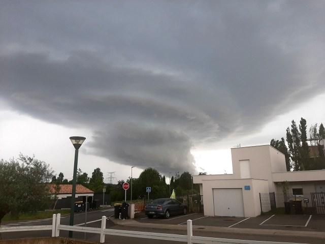 Des orages, localement forts, sont attendus sur le midi Toulousain, samedi 26 juin 2021.