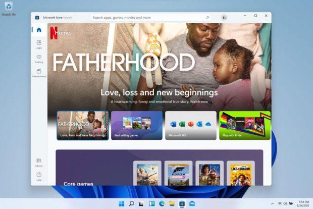 Windows 11 et Microsoft Store