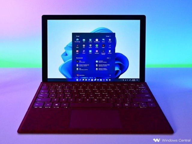 Windows 11 Start Surfacepro Lighting