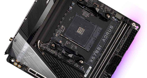 Carte mère Mini-ITX X570SI AORUS Pro AX