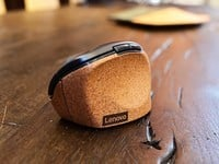 Lenovo's new ergonomic-friendly mouse and keyboard use cork, feel great