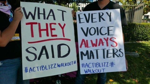 Activision Blizzard Walkout Voice Always Matters