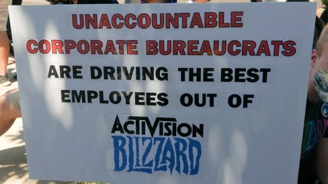 Activision Blizzard Walkout