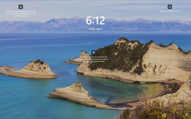 Windows 11 Lock screen