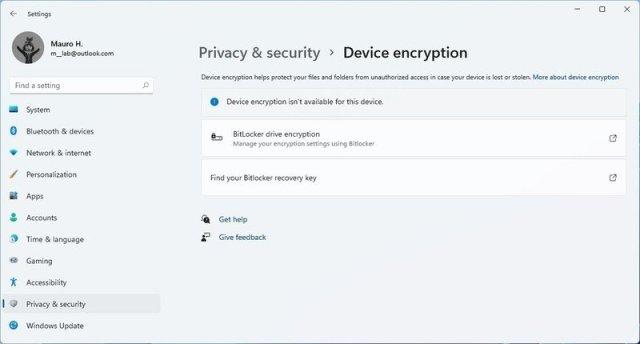 Device Encryption