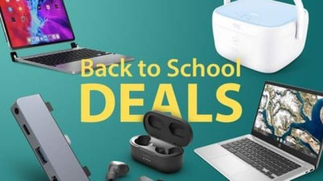 Back To School Deals Feature 2021