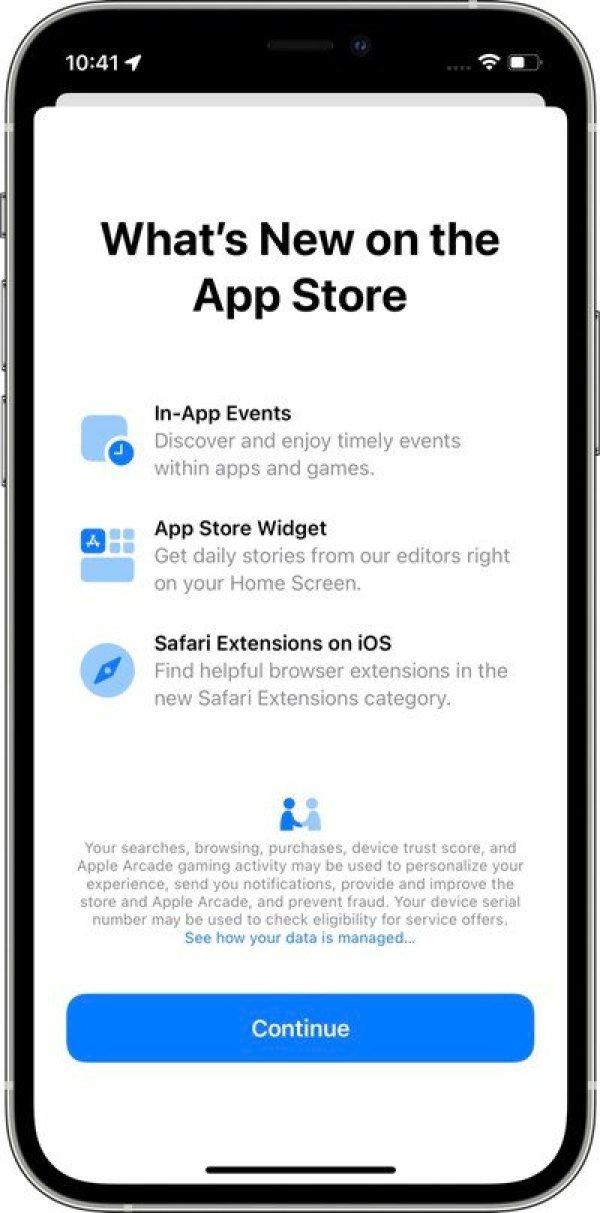 app store splash screen