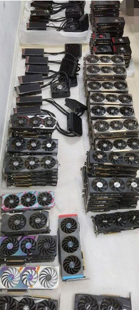 Les GeForce RTX 30 series et le marché de l'occasion