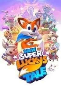 New Super Luckys Tale Box Art