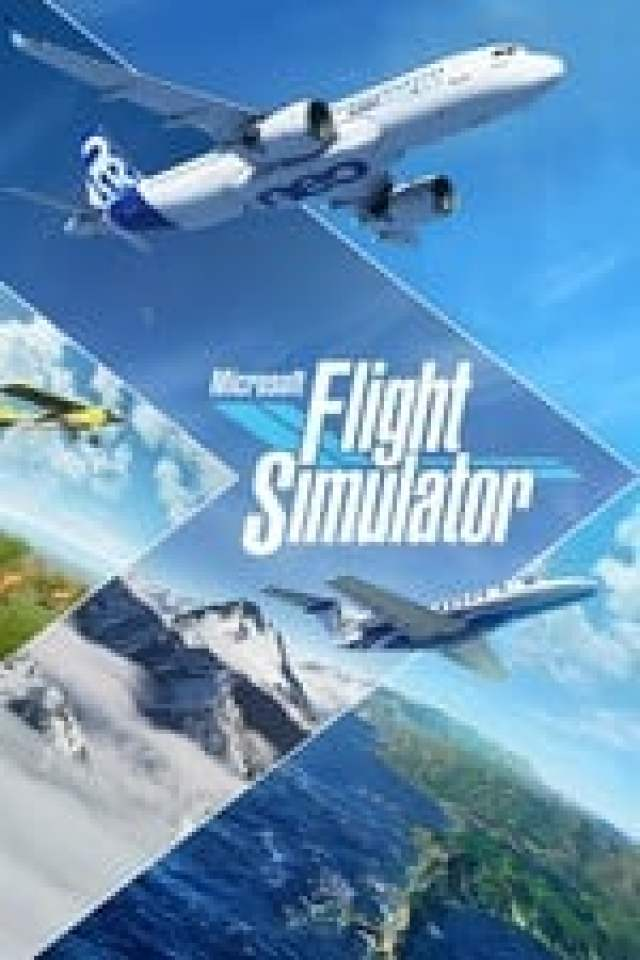 Microsoft Flight Simulator 2020 Box Art