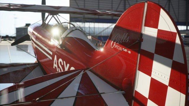 Microsoft Flight Simulator Pitts Hangar