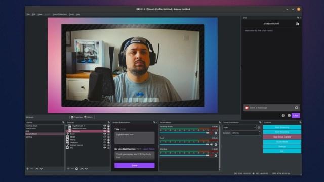 Obs Studio Virtual Camera