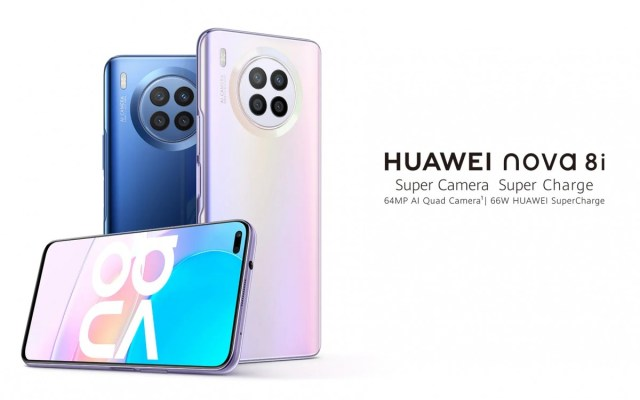 Huawei nova 8i announced with Snapdragon 662, 64MP quad camera, and 66W charging