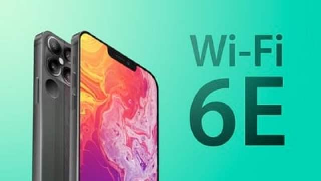 iPhone 13 Wi Fi 6E greener