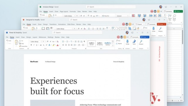 Microsoft Office gets a new UI, Office Insiders can try it