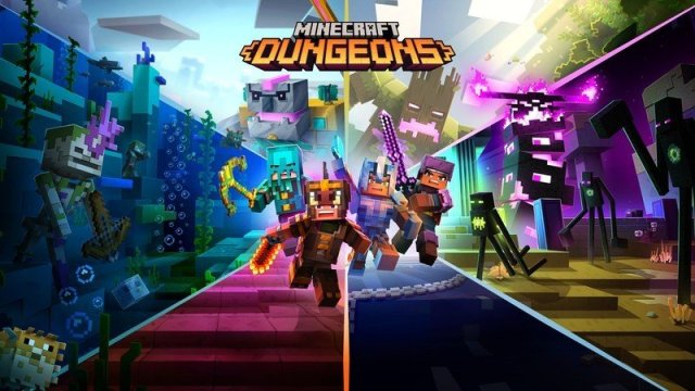 Minecraft Dungeons Ultimate Edition Key Art
