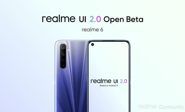 Realme 6 and 6i get Android 11-based Realme UI 2.0 open beta